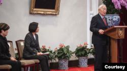 台灣總統蔡英文再次任命張忠謀出席APEC領袖峰會(台灣總統府2020年11月10日)