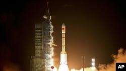 俄羅斯關注中國的航天發展﹐不久前中國發射天宮一號,俄羅斯新聞媒體都對此做了大量報道(資料圖片)