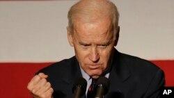 El vicepresidente Joe Biden pidió a los nuevos ciudadanos que no se olviden de los millones de inmigrantes indocumentados que también merecen un camino a la ciudadanía.