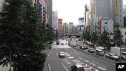 往日充滿遊客的日本街道 今見冷清