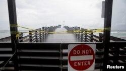 Pristanište u Broard parku je zatvoreno zbog nadolazeće oluje