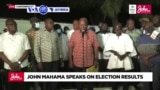 VOA60 AFIRKA: Jagoran 'yan adawa a Ghana John Mahama ya gargadi shugaba Nana Akufo-Ado da kada ya yi wani yunkuri na sace zaben ranar Litinin