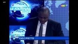 Lecture du décret de nomination de Mohamed Béavogui