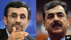 ملاقات صدراعظم پاکستان با رئیس جمهور ایران