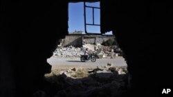 Деревня Тафтаназ, Сирия (архивное фото)