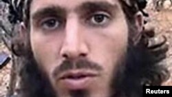 Omar Shafik Hammami, alias Abu Mansour al-Amriki, a U.S. citizen and former resident of Alabama, is seen in an undated FBI handout photo.