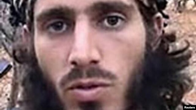 Omar Shafik Hammami, alias Abu Mansour al-Amriki, a U.S. citizen and former resident of Alabama, is seen in an undated FBI handout photo.