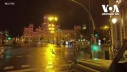 მთელი ღამის განმავლობაში ესპანეთში ვითარებას სამხედროები აკონტროლებდნენ