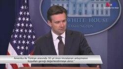 Beyaz Saray Sözcüsü Türkiye ile İlgili Soruları Yanıtladı