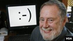 Dosen Carnegie Mellon, Scott E. Fahlman pencipta ikon 'Smiley Face' 25 tahun yang lalu (foto:dok).