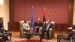 Catherine Ashton viziton Tiranën