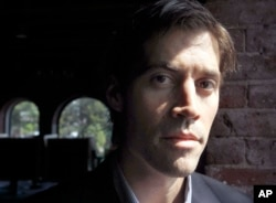 FILE - American journalist James Wright Foley.