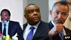 Joseph Kabila, Jean-Pierre Bemba, Moïse Katumbi.