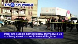 VOA60 World PM - Deadly Double Suicide Bomb Attack Hits Baghdad