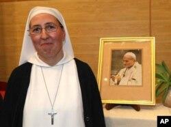 法国修女玛丽.西蒙.皮埃尔