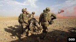 US troops casualties in Afghanistan
