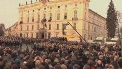 捷克为哈维尔举行隆重葬礼