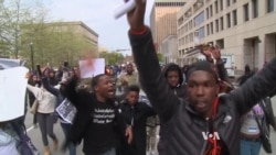 Baltimore Protesters Demand Police Accountability, Justice