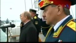 Ông Putin đến Crimea nhân kỷ niệm chiến thắng của Liên Xô