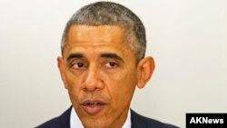 باراک اوباما رئیس جمهوری آمریکا