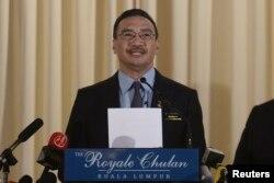 馬來西亞國防部長希山慕丁