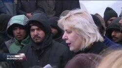 Dunja Mijatović: Vučjak je sramota za BiH; Migranti: Želimo samo preći granicu