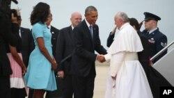 El miércoles el papa Francisco será recibido en la Casa Blanca y permanecerá en el país hasta el 27 de septiembre.