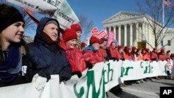 Ежегодный Марш в защиту жизни. Вашингтон, 22 января 2014г.