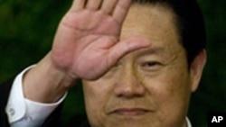 中国主管司法公安的政法委书记周永康(资料照片)
