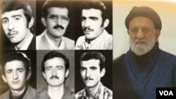 تصویری از پدر برهانی و شش فرزند کشته شدهاش