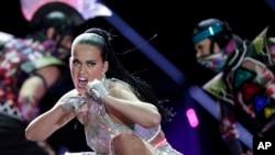 Katy Perry, Rio de Janeiro, 28 septembre 2015.