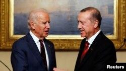 ABD'nin yeni seçilen Başkanı Joe Biden ve Cumhurbaşkanı Recep Tayyip Erdoğan