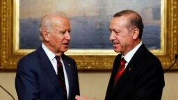 Joe Biden 2014 yılında başkan yardımcısı olarak yaptığı Türkiye ziyaretinde.