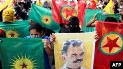 «Քրդստանի աշխատավորական կուսակցության» կողմնակիցների ցույց Ստամբուլում (արխիվային լուսանկար)