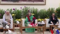 """বিদেশী সাংবাদিকদের সাথে নির্বাচনের সার্বিক বিষয় নিয়ে প্রধানমন্ত্রী শেখ হাসিনার মতবিনিময়"""""""