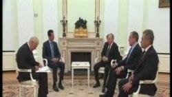 阿薩德和普京商討俄羅斯在敘軍事行動