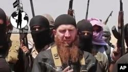 Hình ảnh được AP xác nhận và được thu lại từ video được đăng tải trên một tài khoản mạng xã hội được nhóm ISIL thường xuyên sử dụng.