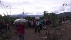 Entre sueños y sacrificios venezolanos buscan regresar a Colombia