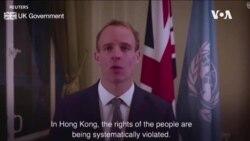 """英國譴責中國在新疆的""""工業化規模""""虐待行為"""
