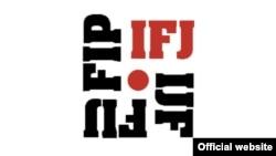 國際記者聯盟(IFJ)標誌