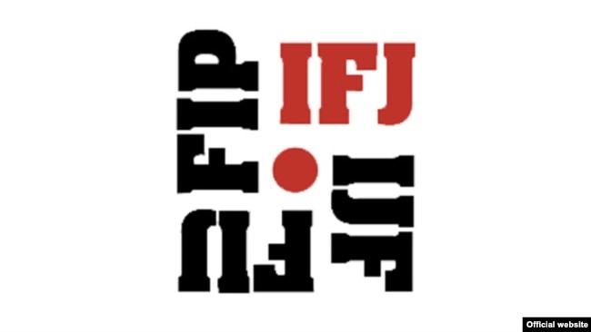 国际记者联盟标志