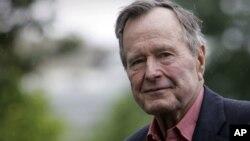 George H.W. Bush, le 11 mai 2008.