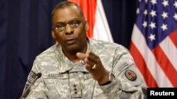 AQSh Qurolli Kuchlari Markaziy qo'mondonligi qo'mondoni general Lloyd Ostin