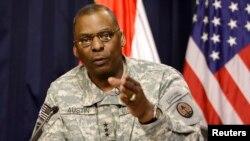 ABD Merkez Kuvvetleri Komutanı Lloyd Austin