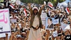 也門總統把阿拉伯動亂歸咎于美國以色列
