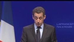 2012-04-22 美國之音視頻新聞: 法國大選奧朗德得票超過薩科齊