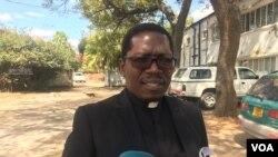Reverend Kenneth Mtata, unobhala jikelele weZimbabwe Council of Churches.