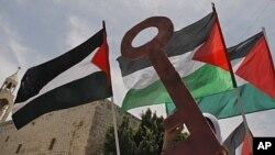 خۆپـیشاندانێکی ناڕهزایی فهڵهسـتینیـیهکان له شـاری بێت لهحم به بۆنهی 63 ههمین سـاڵڕۆژی دامهزراندنی دهوڵهتی ئیسرائیل، ههینی 13 ی پـێـنجی 2011