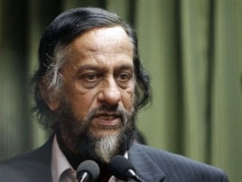 The head of the Intergovernmental Panel on Climate Change Rajendra Pachauri (file photo)