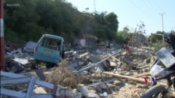 2018-10-01 美國之音視頻新聞: 印尼地震海嘯後死亡人數有可能上升